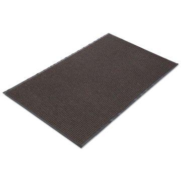 Crown Needle Rib Wipe & Scrape Mat Polypropylene 48 x 72 Brown NR0046BR