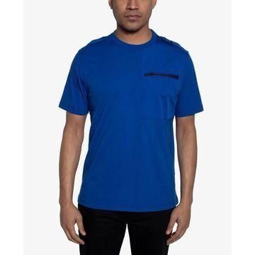 Men's Zip-Pocket Flight T-Shirt, Created for Macy's