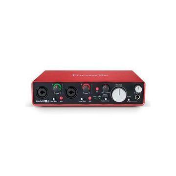 Focusrite Scarlett 2i4 2nd Gen 2 Input/4 Output USB 2.0 Audio Interface