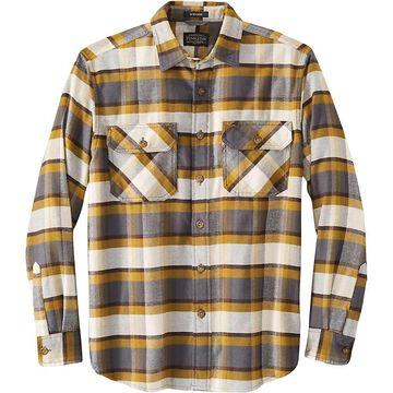 Pendleton Men's Burnside Flannel Shirt - Large - Slate Multi Plaid
