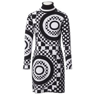 Emilio Pucci Black Wool Dresses