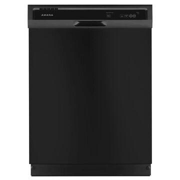Amana 63-Decibel Front Control 24-in Built-In Dishwasher (Black) ENERGY STAR | ADB1400AGB