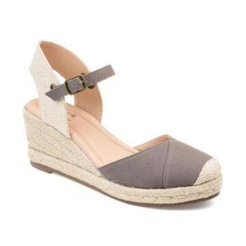 Journee Collection Women's Ashlyn Espadrille Wedges Women's Shoes