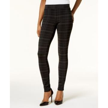 Style & Co Petite Plaid Ponte Legging, Created for Macy's
