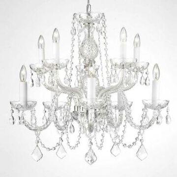 Gallery Crystal 10-Light Chandelier