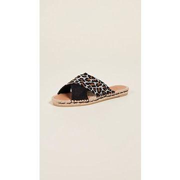 Castaner Paloma Crisscross Slide Sandals