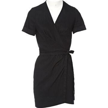 Isabel Marant Etoile \N Black Linen Dresses