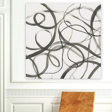 Wexford Home 'Dancing in the Wind I' Premium Gallery Wrapped Canvas