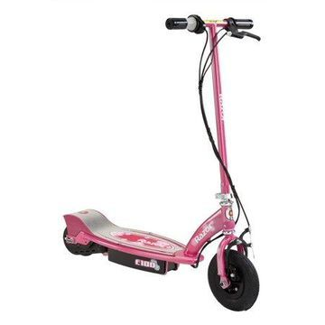 Razor E100 Electric Powered Scooter with Rear Wheel Drive - Sweet Pea