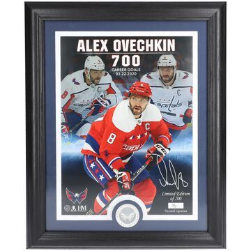 Alexander Ovechkin Washington Capitals Highland Mint Limited Edition 700th Goal Photo