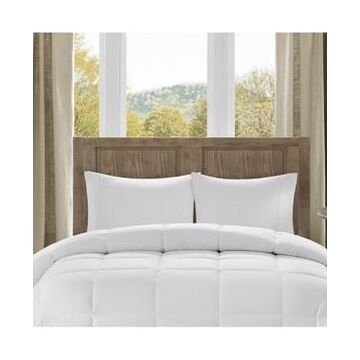 Madison Park Winfield Twin/TwinXL Luxury Down-Alternative Comforter, 300-Thread Count
