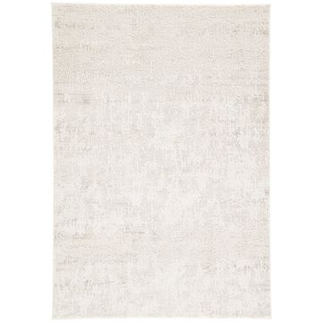 Juniper Home Laramie Silver/White Abstract Runner Rug - 6' x 4'