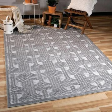 Orian Rugs Boucle Indoor/Outdoor Grand Theatre Silverton Area Rug - 7'9