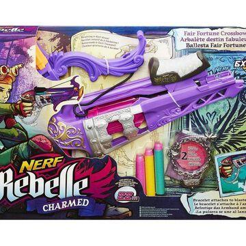 Nerf Rebelle Charmed Fair Fortune Crossbow Blaster Free Shipping