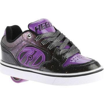 Heelys Children's Motion Plus Roller Shoe Black/Purple/Galaxy