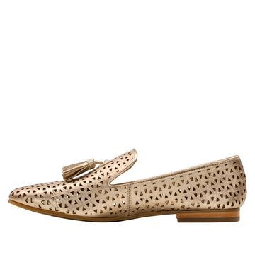 Patricia Nash Francesca Perforated Leather Loafer