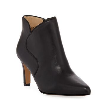 Meriel Smooth Leather Ankle Booties