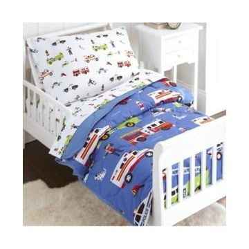 Wildkin's Heroes Sheet Set - Toddler Bedding