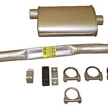Rugged Ridge Exhaust Parts, Omix Walker Replacement Exhaust Kit