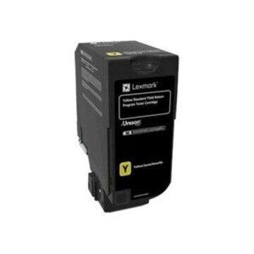Lexmark - yellow - original - toner cartridge - LCCP, LRP