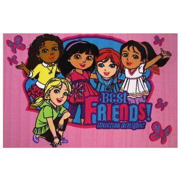 Fun Rugs Dora ''Best Friends'' Rug