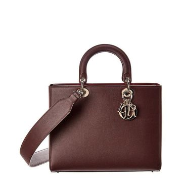 Dior Lady Dior Leather Tote