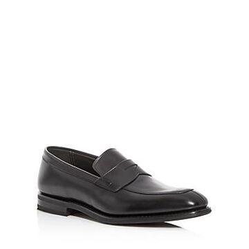 Church's Men's Parham Leather Apron-Toe Penny Loafers