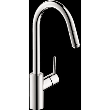 Hansgrohe Talis S HighArc Kitchen Faucet, 1-Spray Pull-Down, 1.75 GPM in Chrome
