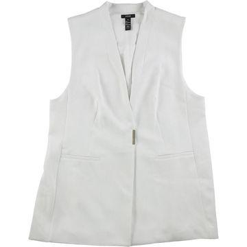 Alfani Womens Structured Fashion Vest