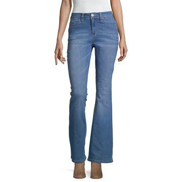 Ymi Womens High Waisted Flare Regular Fit Jean - Juniors