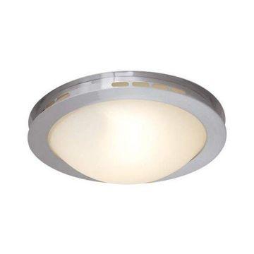Access Lighting Eros Brushed Steel Flush Ceiling Fixture