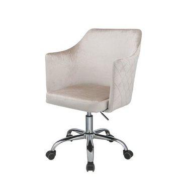 ACME Cosgair Office Chair in Champagne Velvet