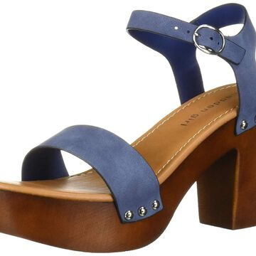 Madden Girl Womens Lifft Open Toe Casual Ankle Strap