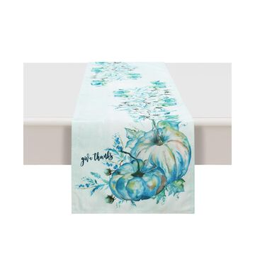 """Laural Home Cool Autumn Table Runner - 72"""" x 13"""""""