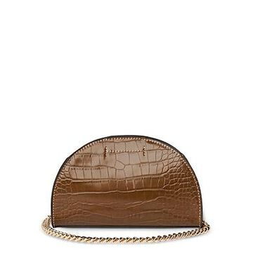 Whistles Miri Croc-Embossed Shoulder Bag
