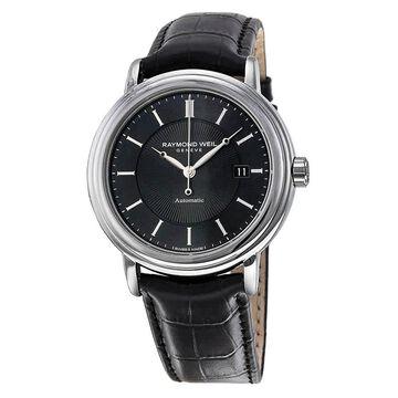 Raymond Weil Maestro Automatic Black Dial Men's Watch 2847-STC-20001
