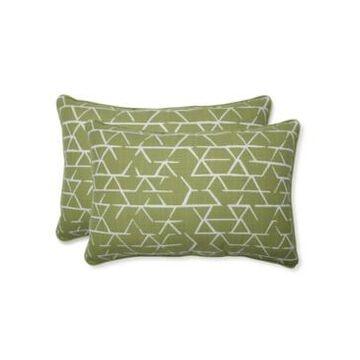 Pillow Perfect Fortress Kengo Artichoke Oversized Rectangular Throw Pillow Set of 2