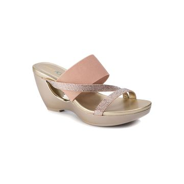 Andrew Geller Womens Athira Wedge Sandals