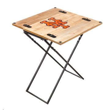 New York Mets Folding Armchair Accent Table