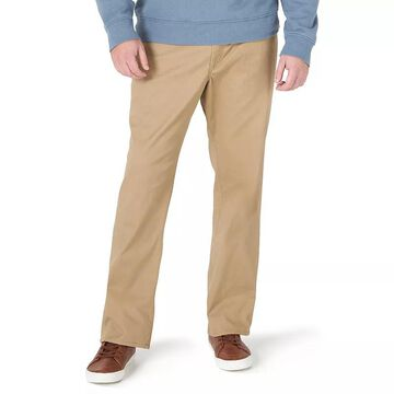Men's Lee Extreme Motion MVP Relaxed-Fit Straight-Leg Jeans, Size: 44X34, Med Beige
