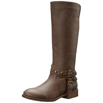 Roper Women's Tied Riding Boot, Brown, 7.5 B US