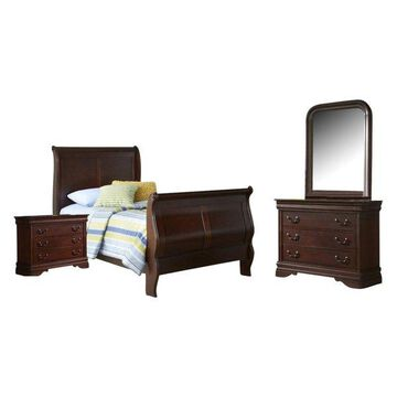 Liberty Carriage Court Bedroom Set With Twin Bed