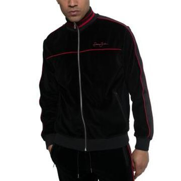 Sean John Men's Velour Track Jacket