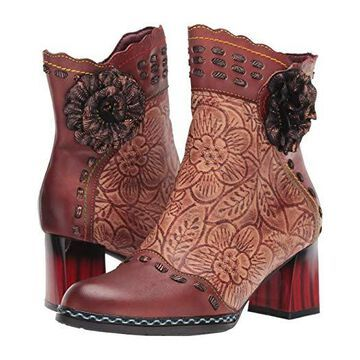 L'Artiste by Spring Step Striolle (Brown Multi) Women's Boots
