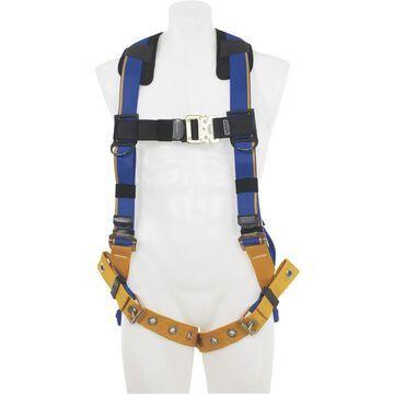 Werner Blue Armor 1-Ring Standard Safety Harness - Blue, XL, Model H112002