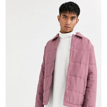 Noak padded coach jacket in pink