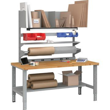 Tennsco Cantilever Packing Table - Cantilever Base - 4 Legs - 72