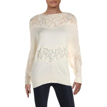 See by Chloe Womens Wool Blend Casual Sweater