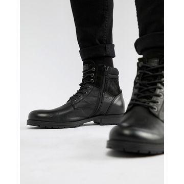 Jack & Jones leather boot