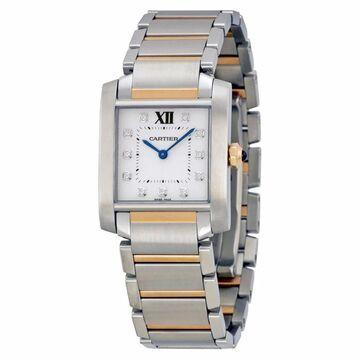 Cartier Women's Tank Francaise Silver Watch (Silver)